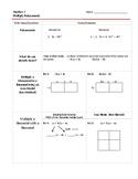 Factor Polynomials Notes Templates