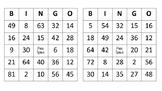 Factor Puzzle Bingo