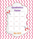 Factor Quadratic Expressions Puzzle 1