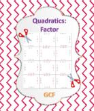 Factor Quadratic Expressions Puzzle 2