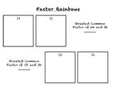 Factor Rainbow Poster