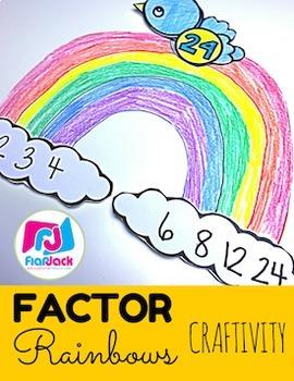 Factor Rainbows Activity Bundle