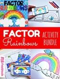 Factor Rainbows Math Centers Activity Bundle