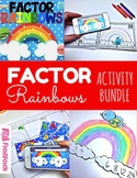 Factor Rainbows Math Centers Activity Bundle