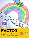 Factor Rainbows Craftivity