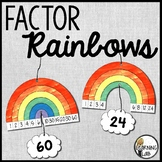 Factor Rainbows - Multiplication Factors