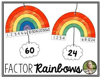 Factor Rainbows - Multiplication Factors