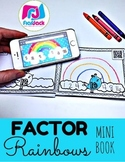 Factor Rainbows QR Code MINI BOOK (Spanish, too)