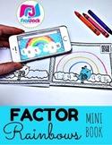 Factor Rainbows QR Code MINI BOOK (Spanish, too)