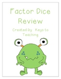 Factor Review- FREE