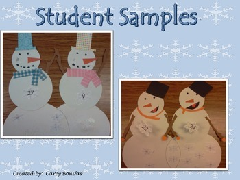 Factor Snowmen- A Venn Diagram Craftivity