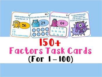 Factor Task Cards