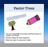 Factor Tree Activity