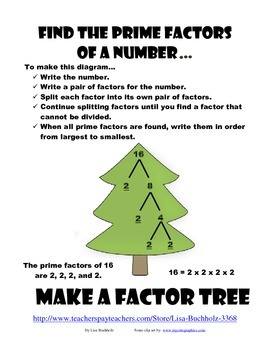 Factor Tree Challenge Book