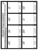 Factor Tree Lottery (no exponents): fun prime factorization practice