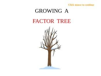 Factor Trees