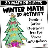Factor Trees December Math Craftivity