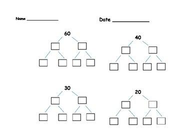 Factor Trees C