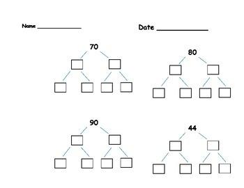 Factor Trees D