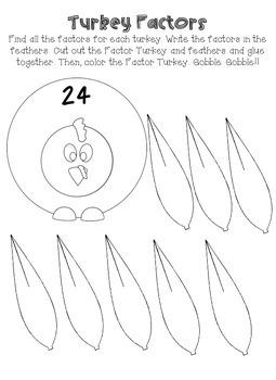 Factor Turkeys - Finding Factors
