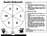Factor Using Divisibility Rules: Sushi Kaboom Game