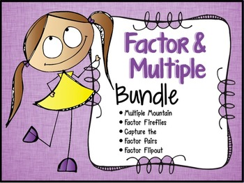 Factors and Multiples Bundle