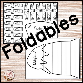 "Factors and Multiples ""Interactive Notebook"" (Halloween Math)"