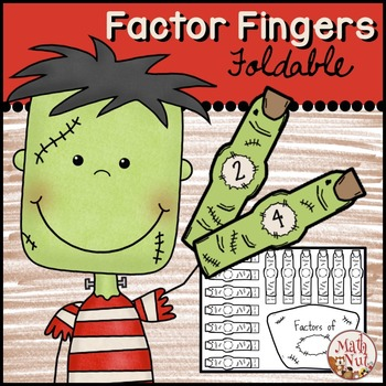 Factors and Multiples Interactive Notebook
