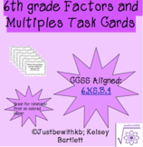Factor and Multiples Task Cards