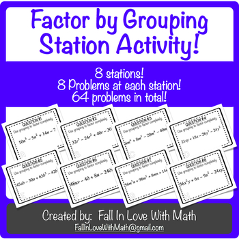 Factor by Grouping Station Activity!