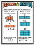 Factor or Multiple?