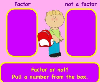 Factor or not?