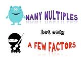 Factor/Multiple Poster