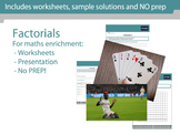 Factorials (!) - Maths enrichment