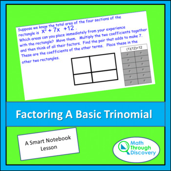 Factoring A Basic Trinomial