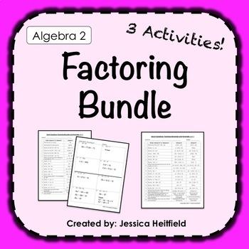 Factoring Activities Bundle