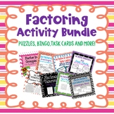 Factoring Activity Bundle!