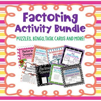 Factoring Activity Bundle!