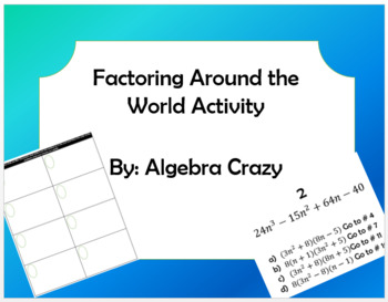 Factoring Around the World Activity
