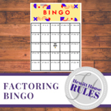 Factoring BINGO (where a = 1)