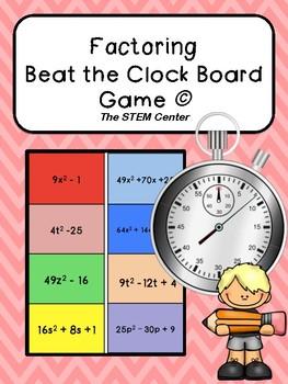 Factoring Beat the Clock Game