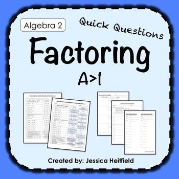 Factoring Binomials and Trinomials Activity: Fix Common Mistakes!