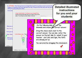 Factoring Binomials The Difference of Squares with GOOGLE Slides for Algebra