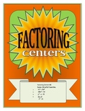 Factoring Centers for Algebra I