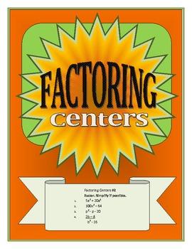 Factoring Centers for Algebra I