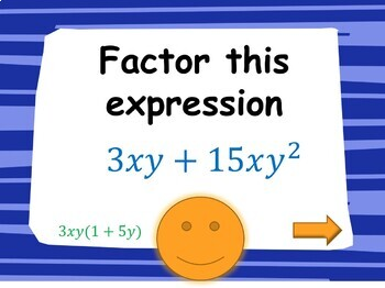 Factoring Expressions