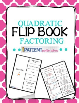 Factoring Flipbook for ISN