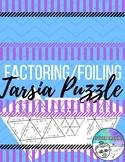 Factoring/ Foiling Tarsia Puzzle