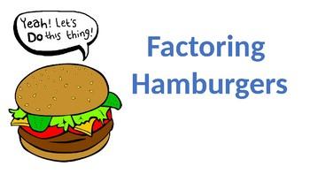 Factoring Hamburgers