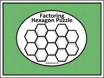 Factoring Hexagon Puzzle